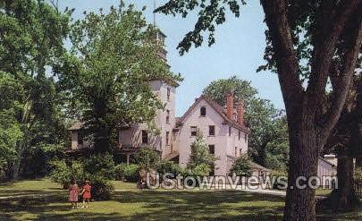 Batsto Mansion - Trenton, New Jersey NJ Postcard