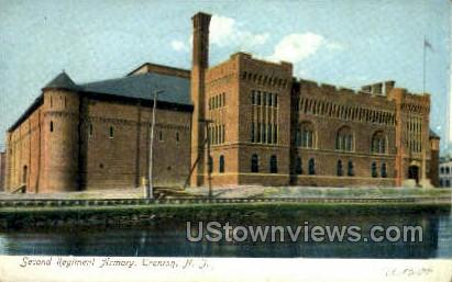2nd Regiment Armory, National Guard - Trenton, New Jersey NJ Postcard
