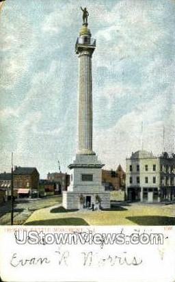 Trenton Battle Monument - New Jersey NJ Postcard