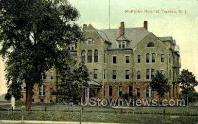 Mckinley Hospital - Trenton, New Jersey NJ Postcard