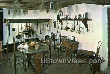 The William Trent House Kitchen - Trenton, New Jersey NJ Postcard