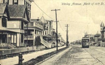 Wesley Avenue - Misc, New Jersey NJ Postcard