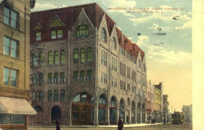 Babcock Building - Plainfield, New Jersey NJ Postcard