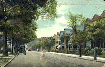 Hamilton Avenue - Trenton, New Jersey NJ Postcard