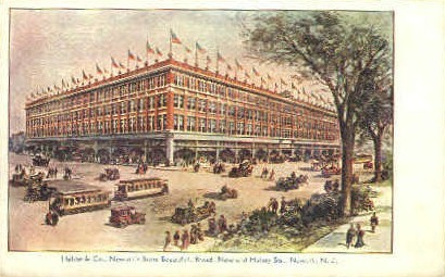 Hahne's Department Store - Newark, New Jersey NJ Postcard