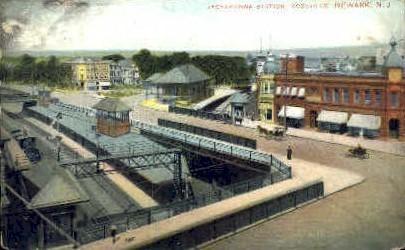 Lackawanna Station - Newark, New Jersey NJ Postcard