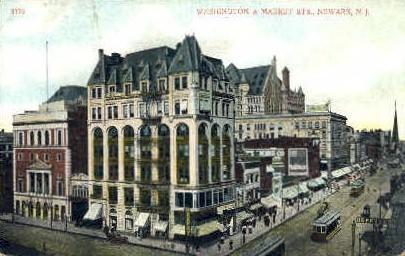 Washington Street - Newark, New Jersey NJ Postcard