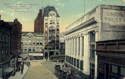 Broad Street - Elizabeth, New Jersey NJ Postcard
