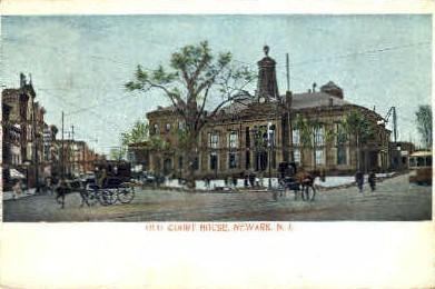 Court House - Newark, New Jersey NJ Postcard