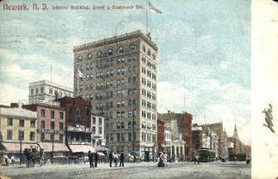 Scheuer Building - Newark, New Jersey NJ Postcard