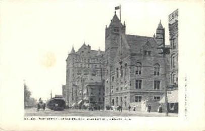 Post Office - Newark, New Jersey NJ Postcard