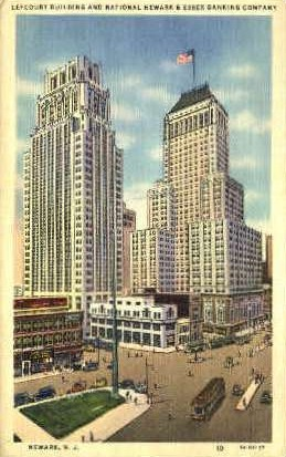 Lefcourt Building - Newark, New Jersey NJ Postcard