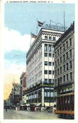 Bamberger Building - Newark, New Jersey NJ Postcard