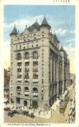 Prudential Life Insurance - Newark, New Jersey NJ Postcard