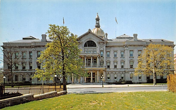 The State Capitol Trenton, New Jersey Postcard