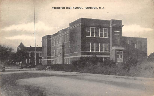 Tuckerton High School New Jersey Postcard