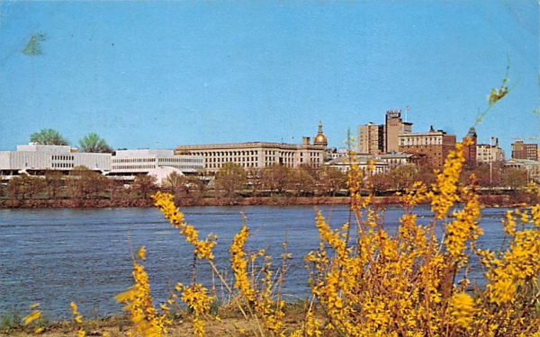 Trenton Skyline New Jersey Postcard