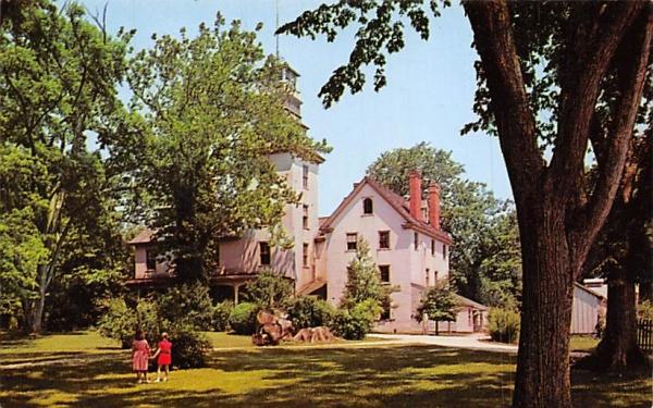 Batsto Mansion Trenton, New Jersey Postcard