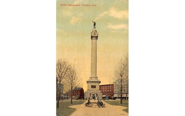 Battle Monument Trenton, New Jersey Postcard