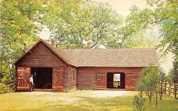 Wheelwright and Blacksmith Shops Trenton, New Jersey Postcard