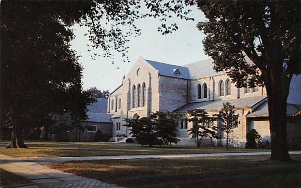 Trinity Church Trenton, New Jersey Postcard