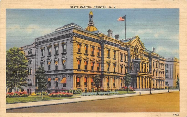State Capitol Trenton, New Jersey Postcard
