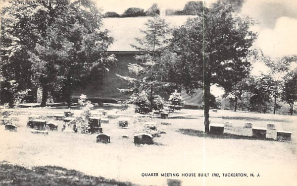 Quaker Meeting House  Tuckerton, New Jersey Postcard