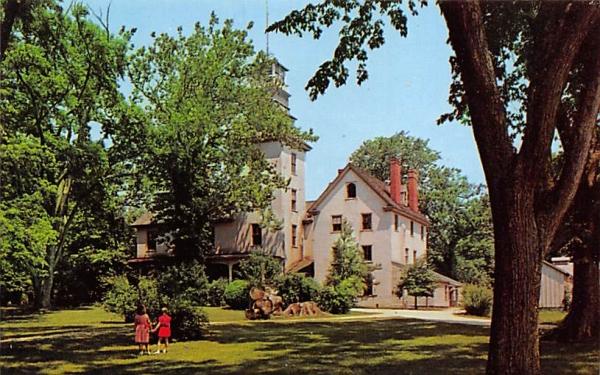 Batsto Manion, the Ironmaster's House  Trenton, New Jersey Postcard