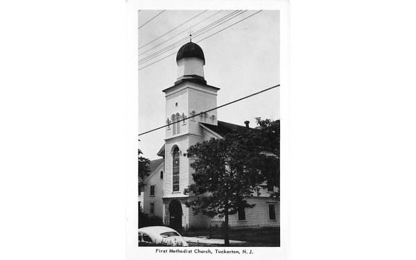 First Methodist Church Tuckerton, New Jersey Postcard