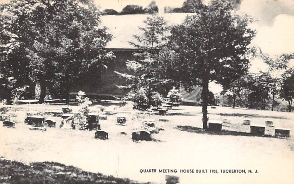Quaker Meeting House Built 1702 Tuckerton, New Jersey Postcard