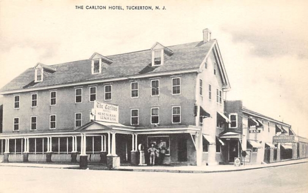 The Calton Hotel Tuckerton, New Jersey Postcard
