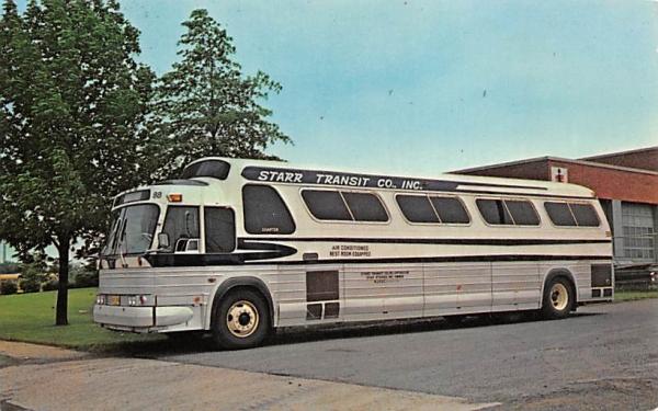 Starr Transit Co., INC. Trenton, New Jersey Postcard