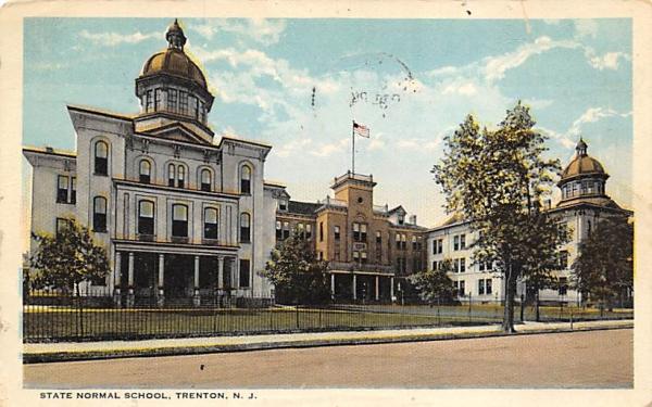 State Normal School Trenton, New Jersey Postcard