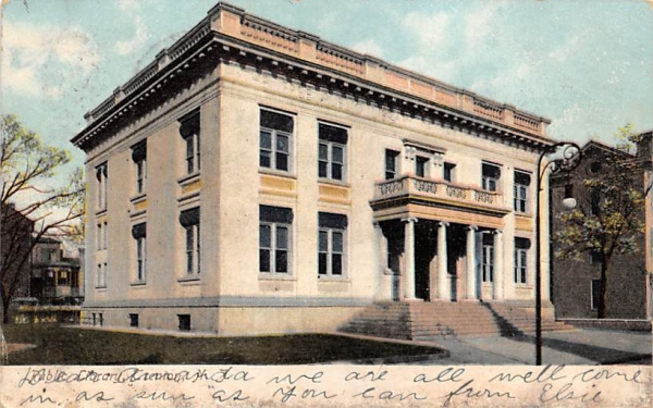 Public Library Trenton, New Jersey Postcard