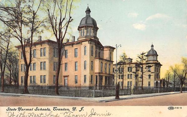 State Normal Schools Trenton, New Jersey Postcard