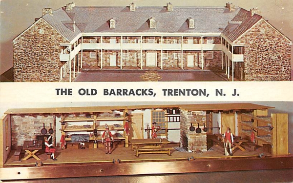 The Old Barracks Trenton, New Jersey Postcard