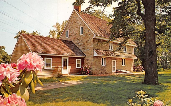 The Watson House Trenton, New Jersey Postcard