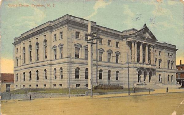Court House Trenton, New Jersey Postcard