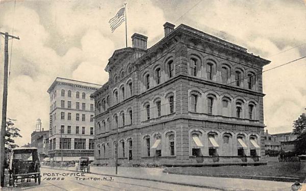 Post-Office Trenton, New Jersey Postcard