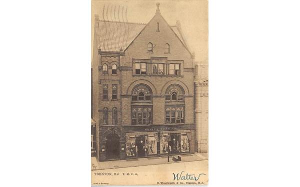 Y.M.C.A. Trenton, New Jersey Postcard