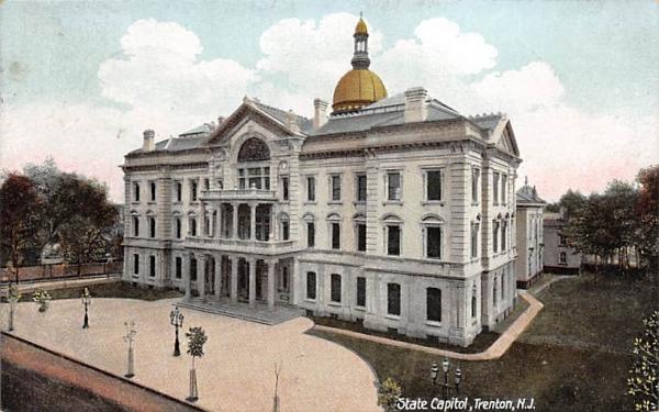 State Captiol Trenton, New Jersey Postcard
