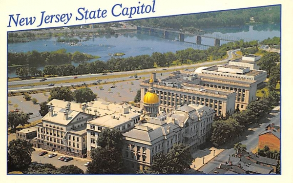New Jersey State Capitol Postcard