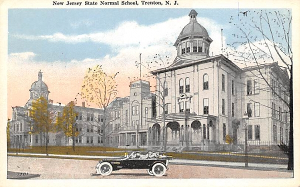 New Jersey State Normal School Postcard