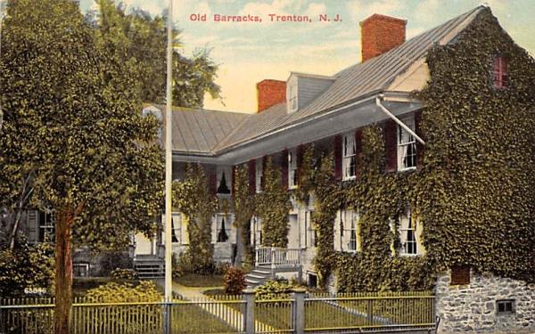 Old Barracks Trenton, New Jersey Postcard