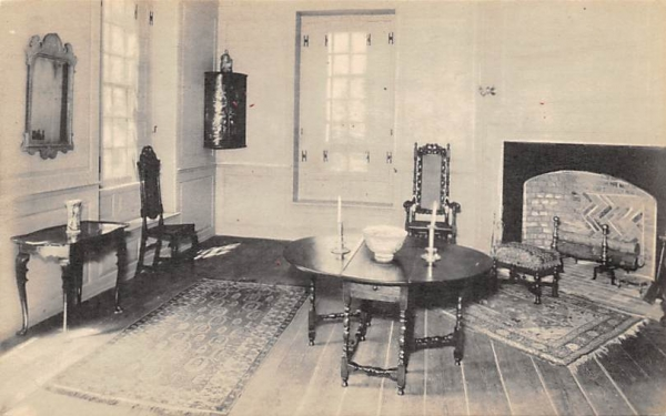 William Trent House, Drawing Room Trenton, New Jersey Postcard