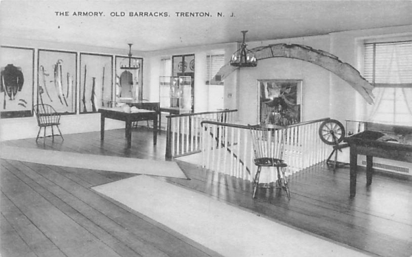 The Armory, Old Barracks Trenton, New Jersey Postcard