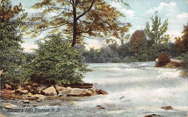 Studder's Falls Trenton, New Jersey Postcard