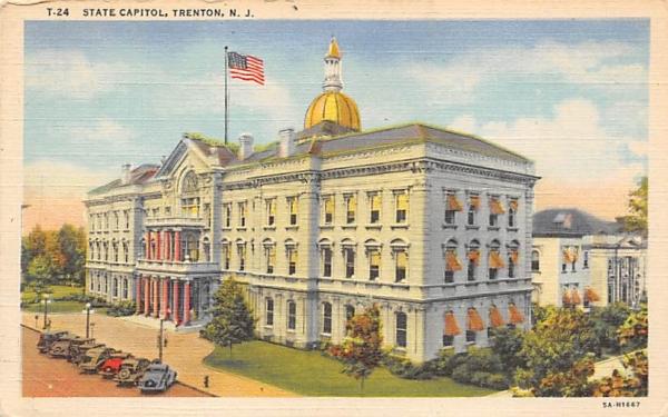 State Capitol Trenton, New Jersey Postcard