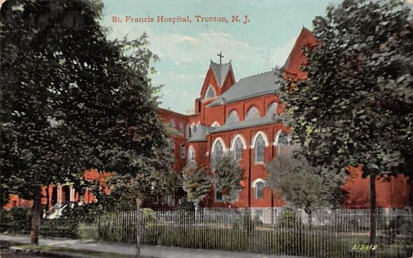 St. Francis Hospital Trenton, New Jersey Postcard