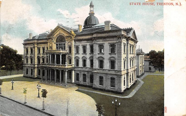 State House Trenton, New Jersey Postcard